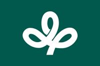 県旗の地色は、こい青みの緑とし、県章部分は、白色とする。 財団法人日本規格協会発行JIS色名帳 ,  JISZ8102準拠こい青みの緑(色の三属性による表示 色相10G 明度3 彩