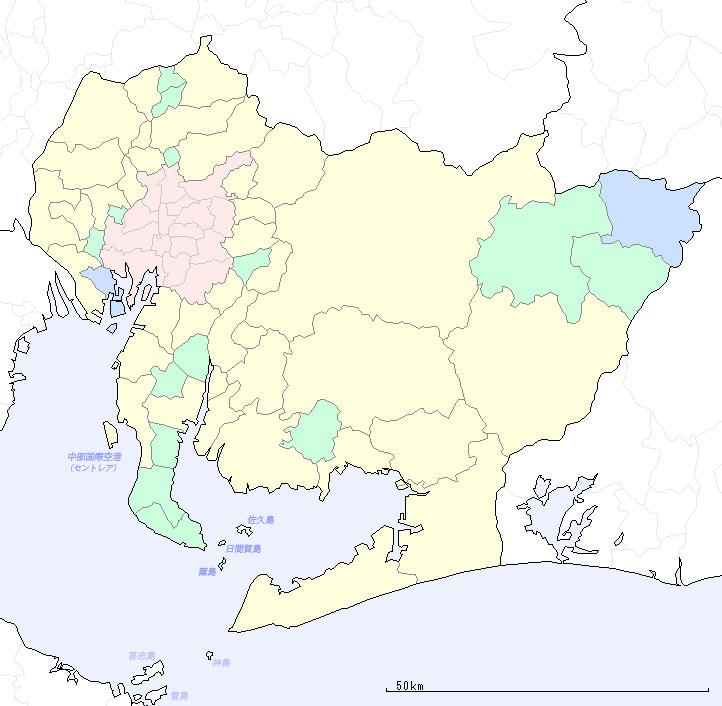 都道府県 47都道府県の地図 : この地図は CraftMAP の地図を元 ...