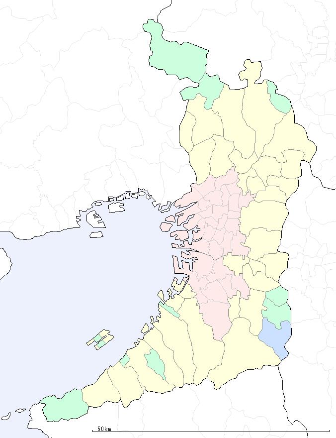 大阪 府 地図